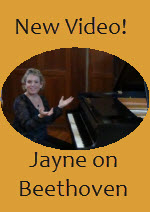 Jayne on Beethoven - click to watch